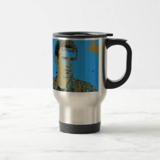 Kurdish YPG Fighter art 4 Travel Mug
