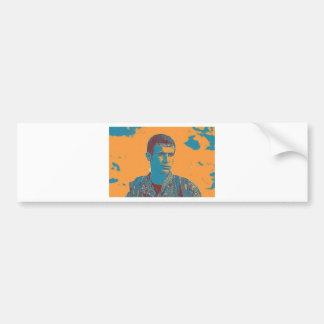Kurdish YPG Fighter art Bumper Sticker