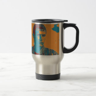 Kurdish YPG Fighter art Travel Mug