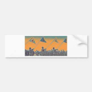 Kurdish YPG - YPJ Figters of Rojava Kurdistan Post Bumper Sticker