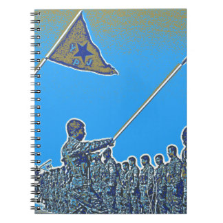 Kurdish YPG - YPJ Figters of Rojava Kurdistan Post Note Book