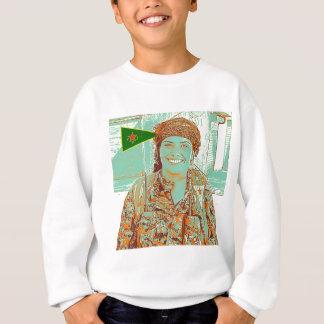Kurdish YPJ Fighter 2 art Sweatshirt