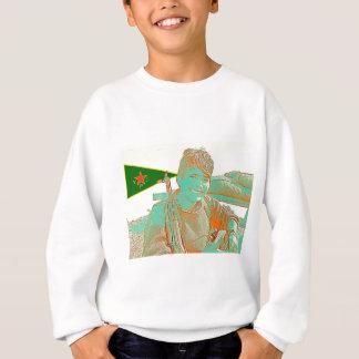 Kurdish YPJ Fighter 3 art 2 Sweatshirt