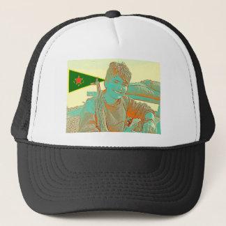 Kurdish YPJ Fighter 3 art 2 Trucker Hat