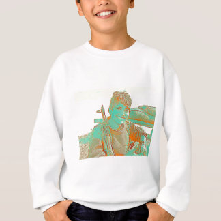 Kurdish YPJ Fighter 3 art Sweatshirt