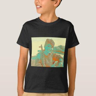 Kurdish YPJ Fighter 3 art T-Shirt