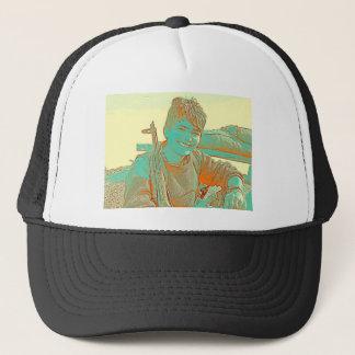 Kurdish YPJ Fighter 3 art Trucker Hat