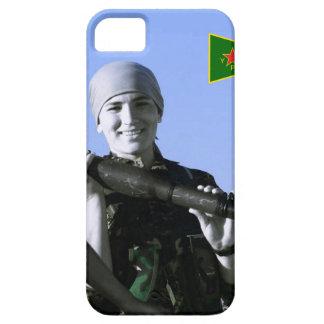 Kurdish YPJ Fighter 4 art Case For The iPhone 5