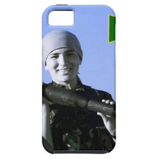 Kurdish YPJ Fighter 4 art iPhone 5 Case