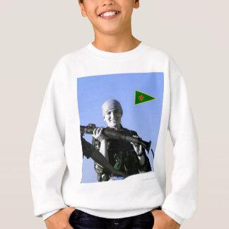Kurdish YPJ Fighter 4 art Sweatshirt
