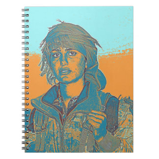 Kurdish YPJ Fighter 5 Notebook