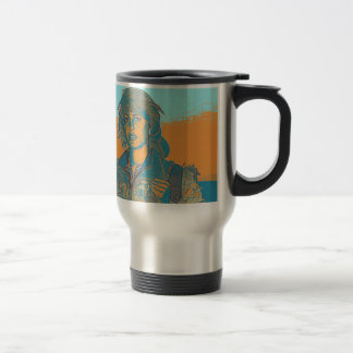 Kurdish YPJ Fighter 5 Travel Mug