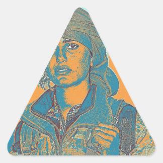 Kurdish YPJ Fighter 5 Triangle Sticker