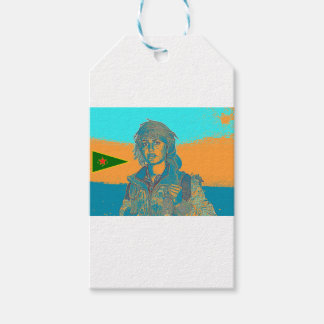 Kurdish YPJ Fighter 6 Gift Tags