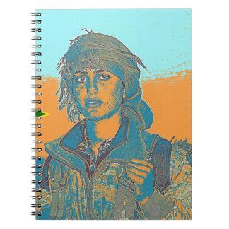Kurdish YPJ Fighter 6 Notebooks