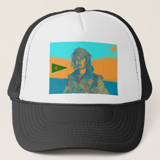 Kurdish YPJ Fighter 6 Trucker Hat