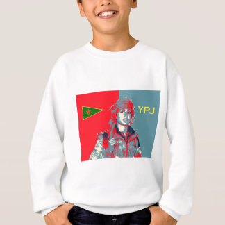 Kurdish YPJ Fighter art 2 Sweatshirt