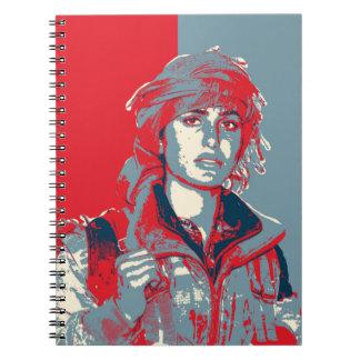 Kurdish YPJ Fighter art Notebook