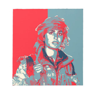 Kurdish YPJ Fighter art Notepad