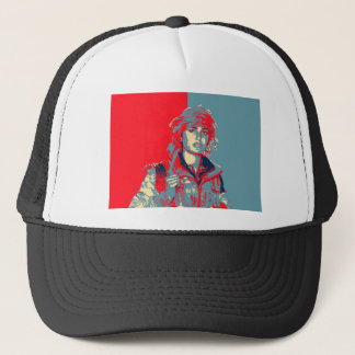 Kurdish YPJ Fighter art Trucker Hat