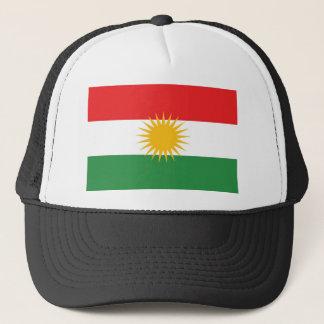 Kurdistan ethnic flag trucker hat