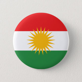 Kurdistan Flag 2 Inch Round Button