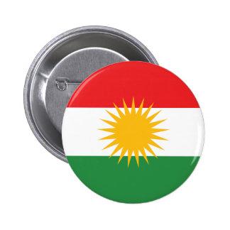 Kurdistan Flag 2 Inch Round Button