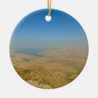 Kurdistan, Lake  Dukan Ceramic Ornament