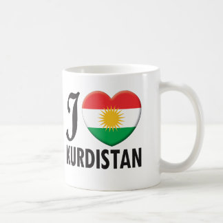 Kurdistan Love Coffee Mug