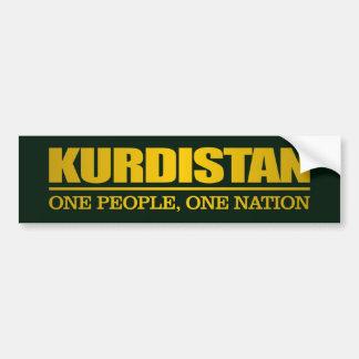 Kurdistan (One People, One Nation) Bumper Sticker