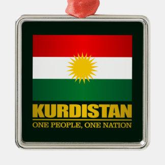 Kurdistan (One People, One Nation) Metal Ornament