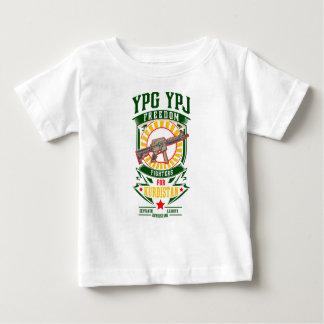 KURDISTAN - YPG - YPJ Freedom Warrior Baby T-Shirt