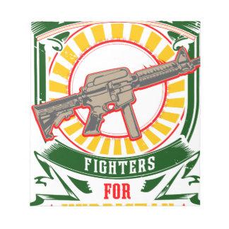 KURDISTAN - YPG - YPJ Freedom Warrior Notepad