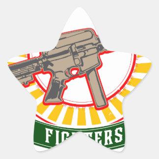 KURDISTAN - YPG - YPJ Freedom Warrior Star Sticker