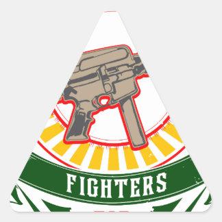 KURDISTAN - YPG - YPJ Freedom Warrior Triangle Sticker