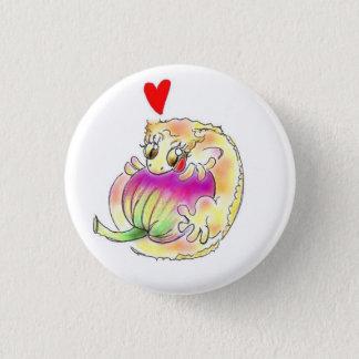 kuresutetsudogetsuko 1 inch round button
