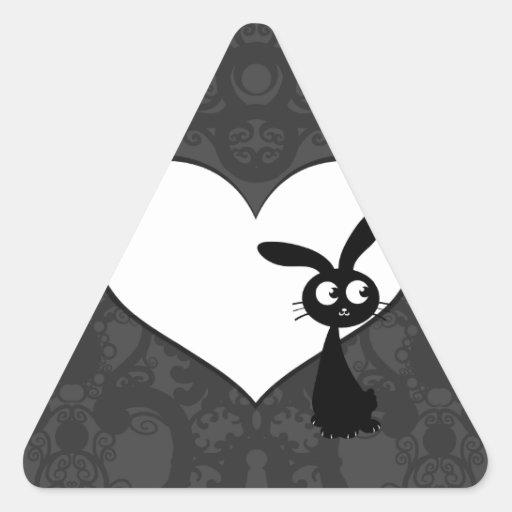 Kuro Bunny Love I Stickers