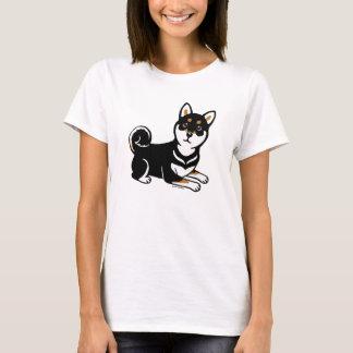 Kuro Shiba Inu love cartoon Shirt