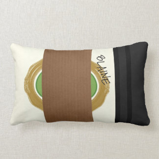 Kurt and Blaine's Coffee Lumbar Pillow