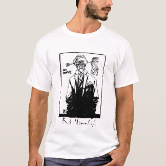 Kurt Vonnegut black and white T-Shirt