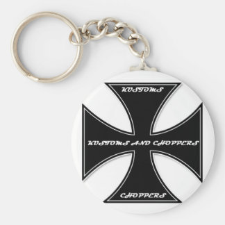 Kustoms and Choppers Keychain