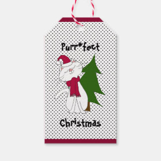 Kute Kitty Purr*fect Christmas Gift Tag Pack Of Gift Tags