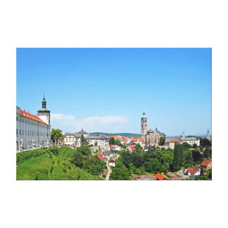 Kutna Hora. Panoramic view. Canvas Print