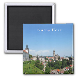Kutna Hora. Panoramic view. Magnet