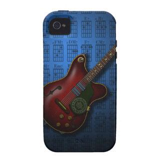KuuMa Guitar 08 (B) iPhone 4/4S Case