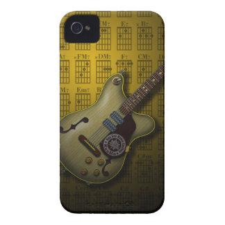 KuuMa Guitar 10 (Y) iPhone 4 Cover
