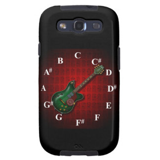 KuuMa Guitar Clock Samsung Galaxy SIII Case