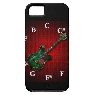 KuuMa Guitar Clock iPhone 5 Covers