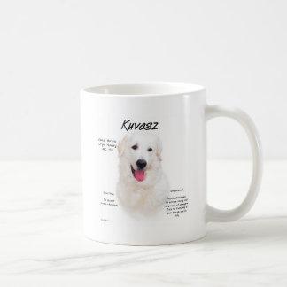Kuvasz History Design Classic White Coffee Mug