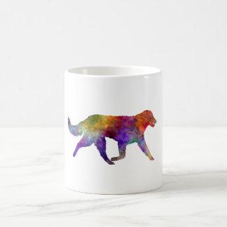 Kuvasz in watercolor 2 coffee mug